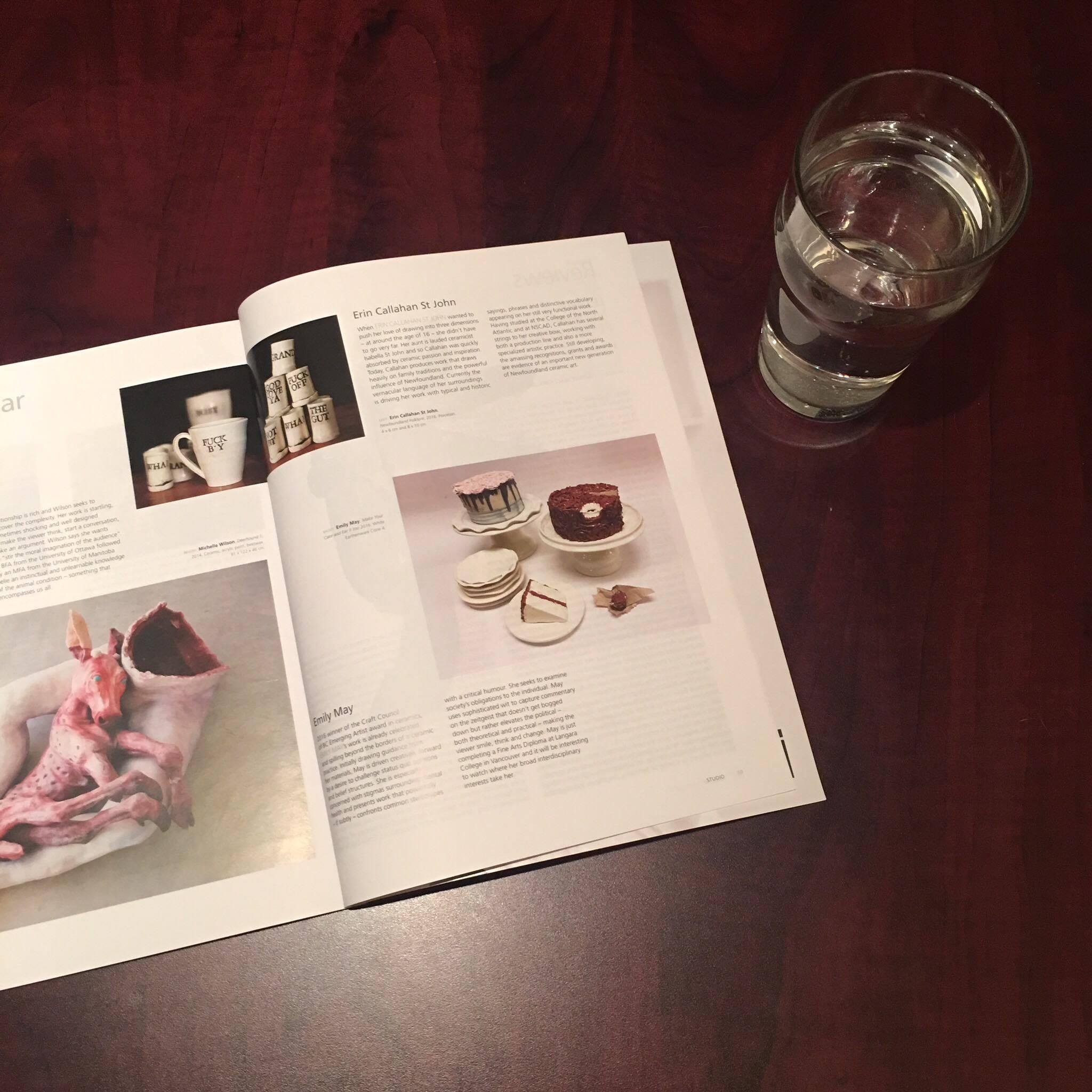 Studio Magazine Feature