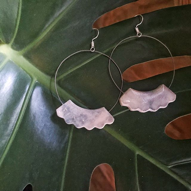 🥰I AM SO HAPPY!! 🥰 . ✨To those of you who might not know, I discovered that I really like making earrings while I was in Medicine Hat. . 💻I'm planning to open an shop section on my website to display my stuff. It's a lot of work but I know it will all be SO worth it! (Also, I have necklaces coming.) . 📧It will be a while before I figure out all the logistics of running an online store but if you're interested in buying a pair of earrings, DM me and I will figure something out! I have so many more pairs than these photos. ☝️ Also, I'll have a cohesive Instagram for my shop but that's to come a bit later (after the other things are figured out). . ❤️Also, I'm so thankful for my super supportive friends who have supported me with their purchases of my earrings. My heart is warm and knowing that you support me and like my work really warms my heart!! ❤️❤️❤️ (Also including the one friend I made who was a stranger who was interested in and bought a few of my earrings spontaneously one day while I was in Canmore.) . 📷I only took nice photos of three pairs of earrings but I am so excited to make more and post the photos! . #emergingartist #madeincanada #jewelry #ceramicjewelry #canadian #vancouver #halifax #alberta #canadiancraft #design #contemporaryclay #citizensofcraft #canadianceramics #ceramics #ceramicsstudent #ceramic #ceramica #keramik #도예 #도기류 #陶瓷 #陶器  #nscad #iamnscad #nscaduniversity
