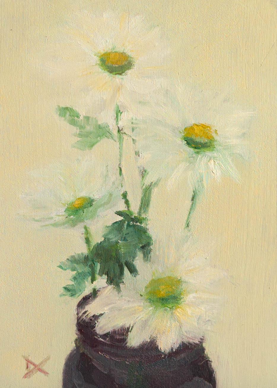 Little White Chrysanthemums
