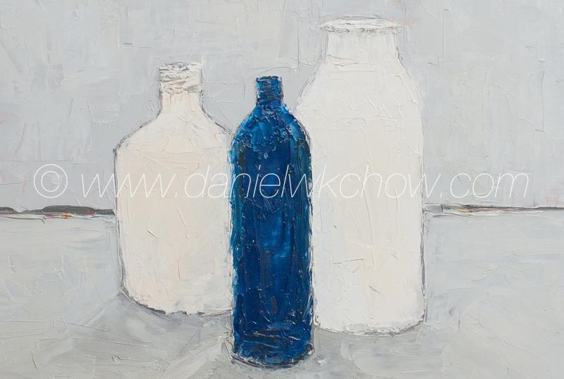 Detail of The Blue Bottle