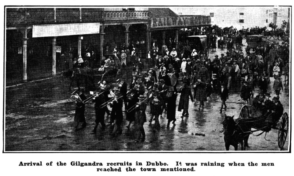 Coo-ees at Dubbo ( Sydney Mail 20/10/1915)