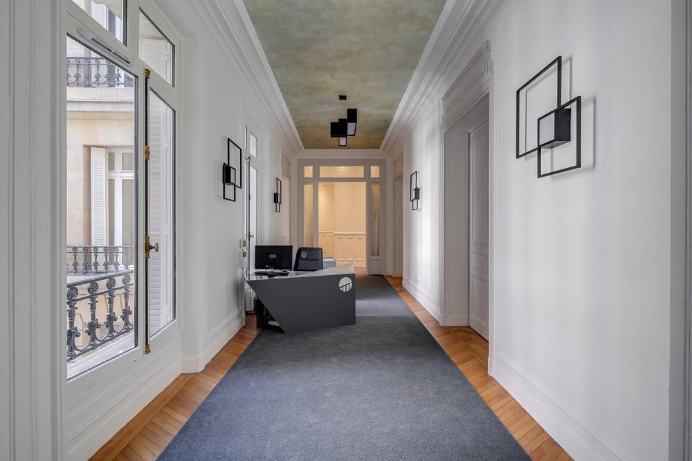 source : eliel arnold architectes d'intérieurs, réhabilitation de bureaux , accueil