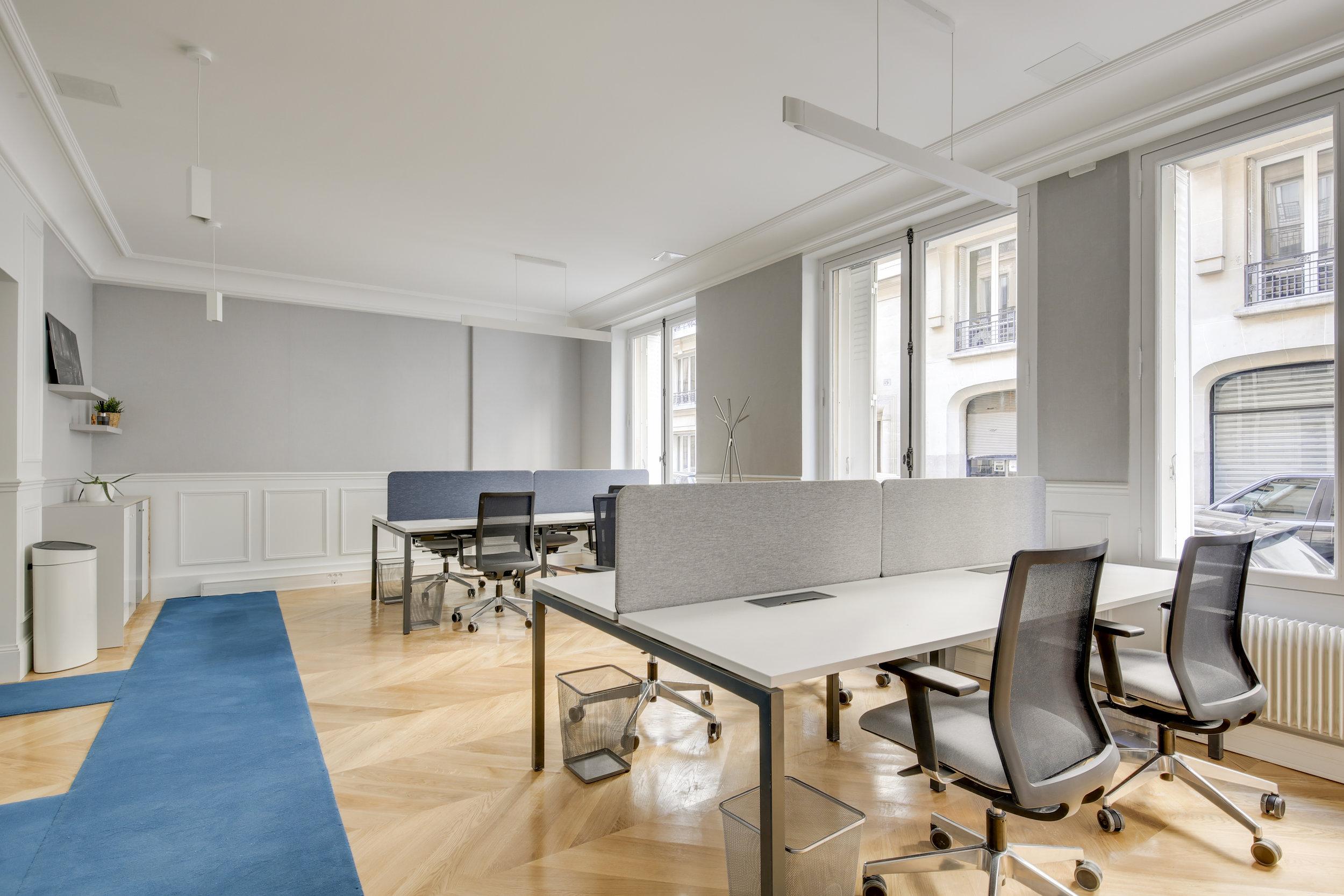 source : eliel arnold architectes d'intérieur, Des bureaux à Paris 17ème