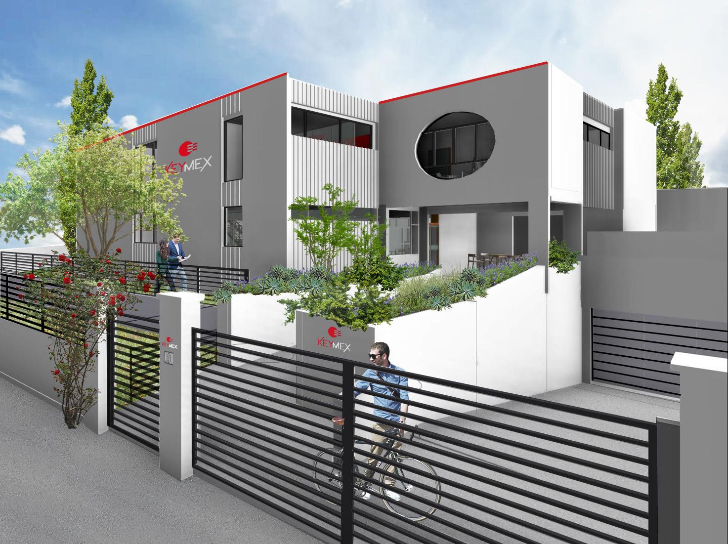 PROJET EN COURS : Centre d'affaire Keymex à Pierrefitte-sur-Seine