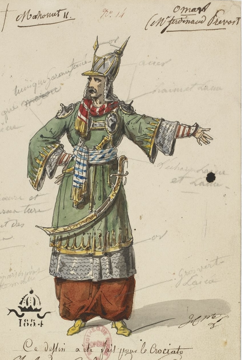 Mahomet II, source : gallica