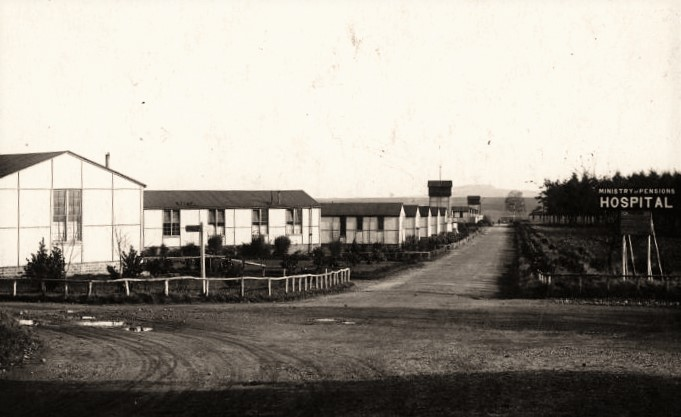 Brindley Heath Military Hospital Entrance