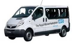 FREE BUS SERVICE between New Cross and Cannock Hospital