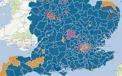 Find Electoral Boundaries (County, District War, Parish Ward)