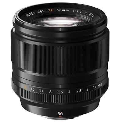 Fujinon 56mm f1.2 - Amazing portrait lense.