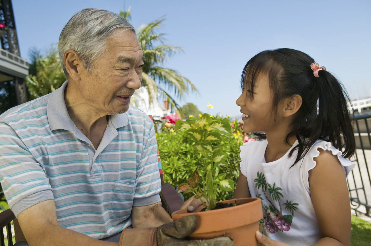 Aging in place, Children and Nature