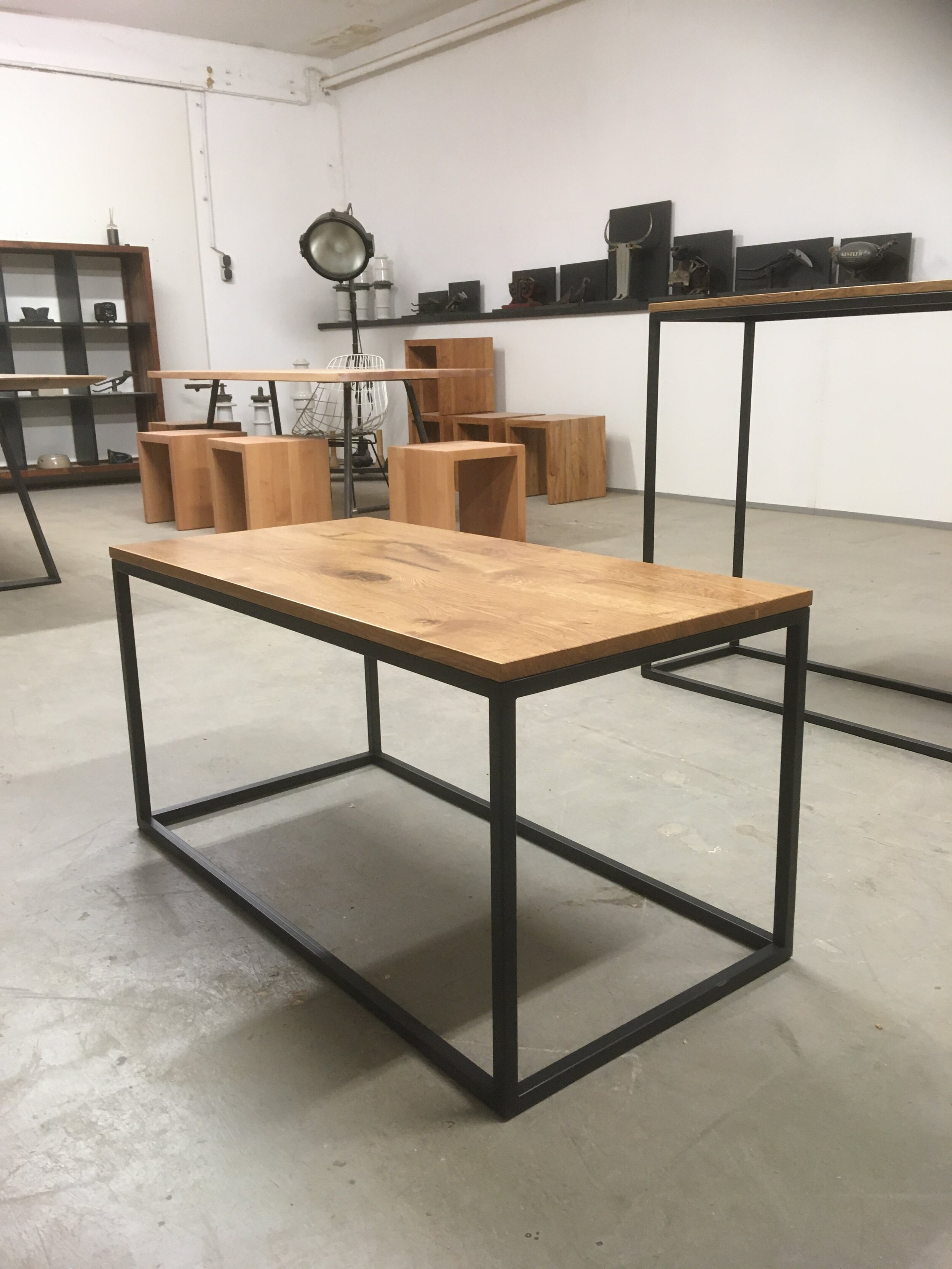 Luckner Mo De Couch Und Beistelltische Stahl Und Eiche