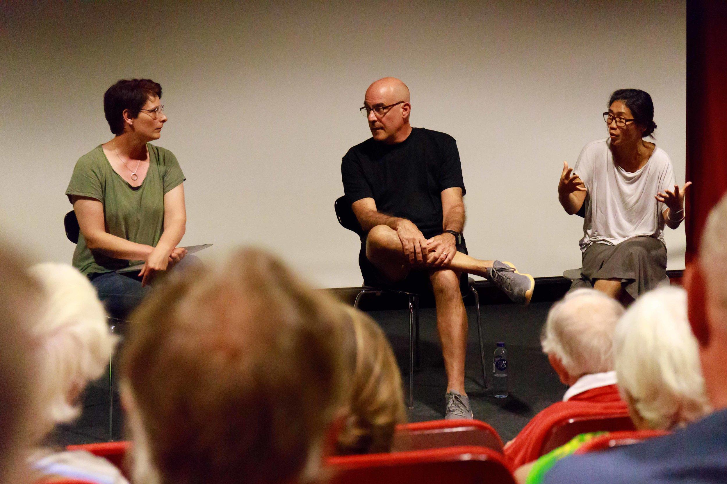 Talk after the screening (PHOTO: Hans Kronekvist)