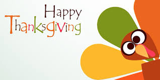 We will be closed on Thanksgiving to enjoy time with our family.