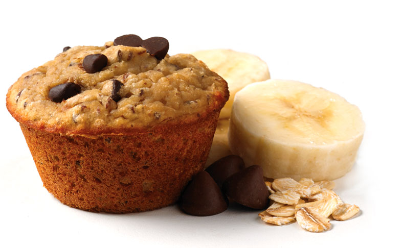 Banana Chocolate Chip Mini Muffin