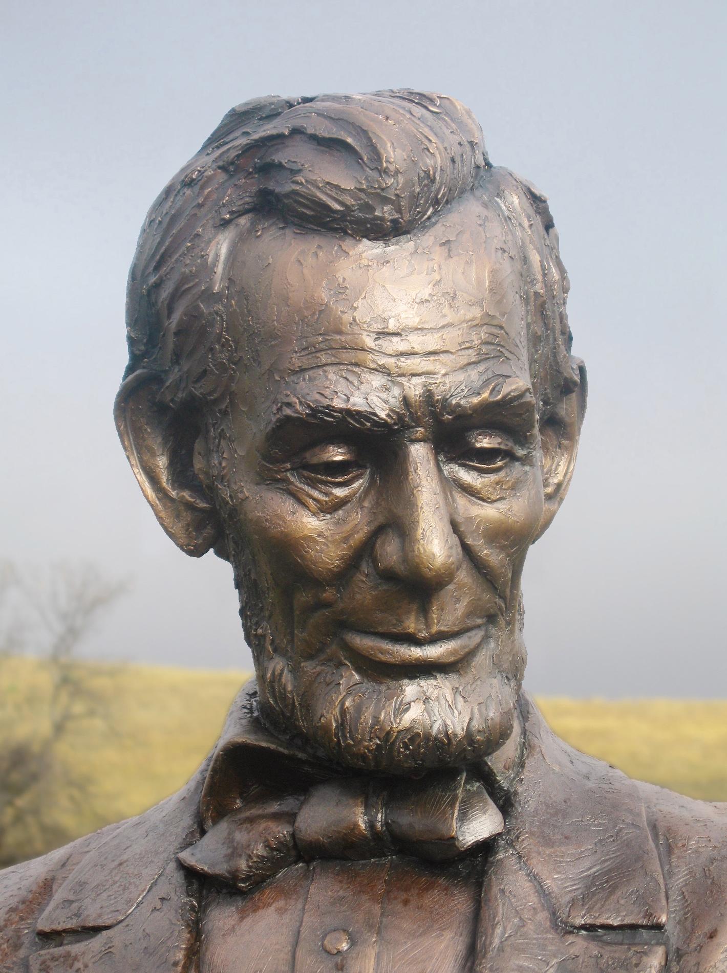 Abraham Lincoln - detail
