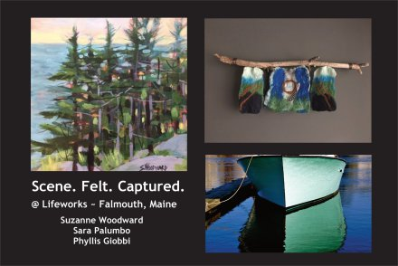 2018 - 2019 - A collection of works expressed in mixed media.Opening & Artists' ReceptionFriday, November 30, 2018 ~ 5pm - 7pm202 U.S. Route One, Suite 100 - Falmouth, Maine