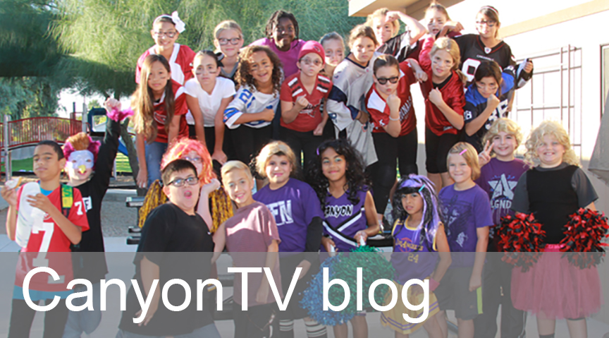 Click here for  CanyonTV's blog.