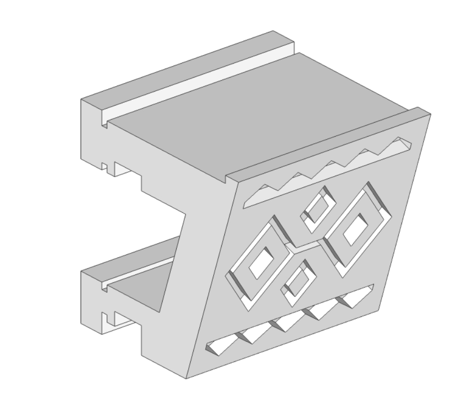 Modelo 3D,  Tocapu  Incaico,  Aguirre/Agarra
