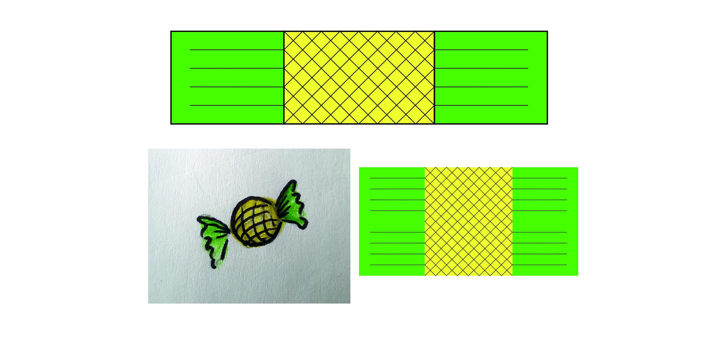 Diseño de empaque para caramelo de piña (ananá), Tropical gold,  Welcome to Parime