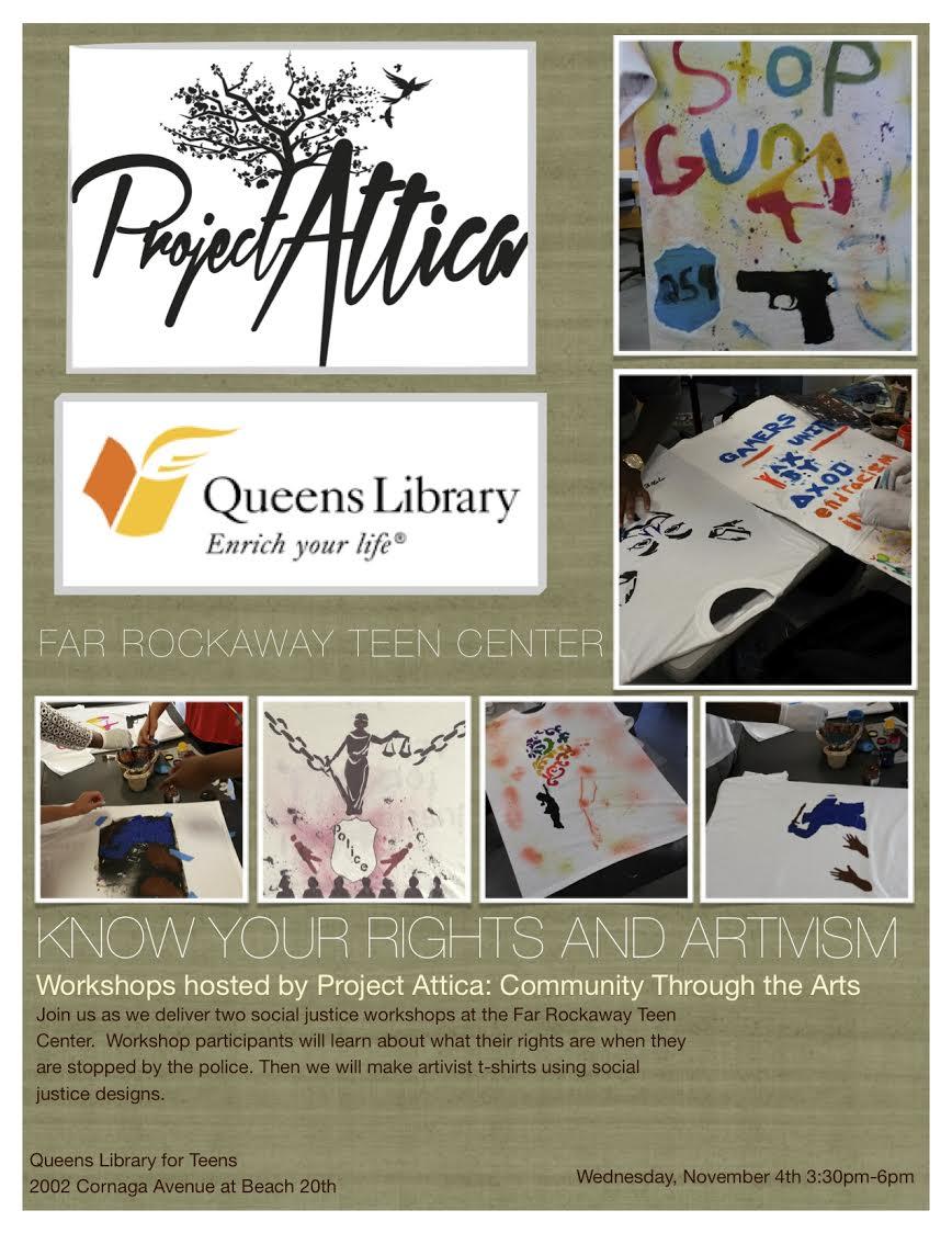 Project Attica Far Rockaway Teen Center