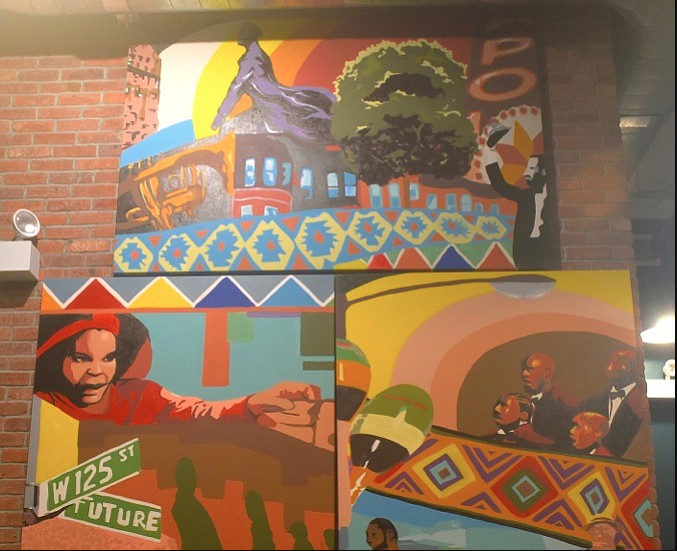 Mural at Whole Foods Harlem BILL MOORE PHOTO