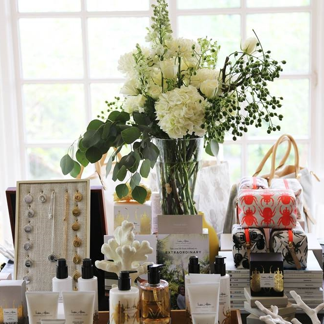 Join us to see and shop the gorgeous jewelry, scents, and accessories of India Hicks — and we'll have light bites and libations!