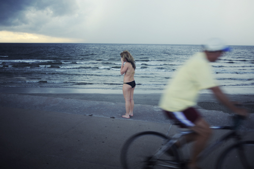 "Galveston, Texas,  Andrew Williams    Color Photography, 11""14"""