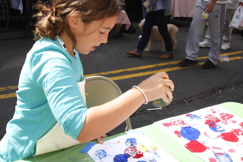 Artist, Sophie @ The Austin Street Festival