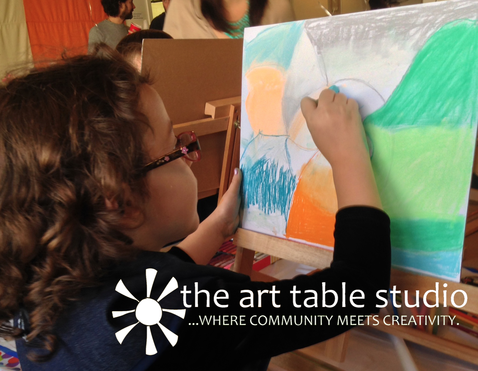Oil & Chalk Pastels, Acrylic, Oh my! -  Creatively capturing all of life's little moments.