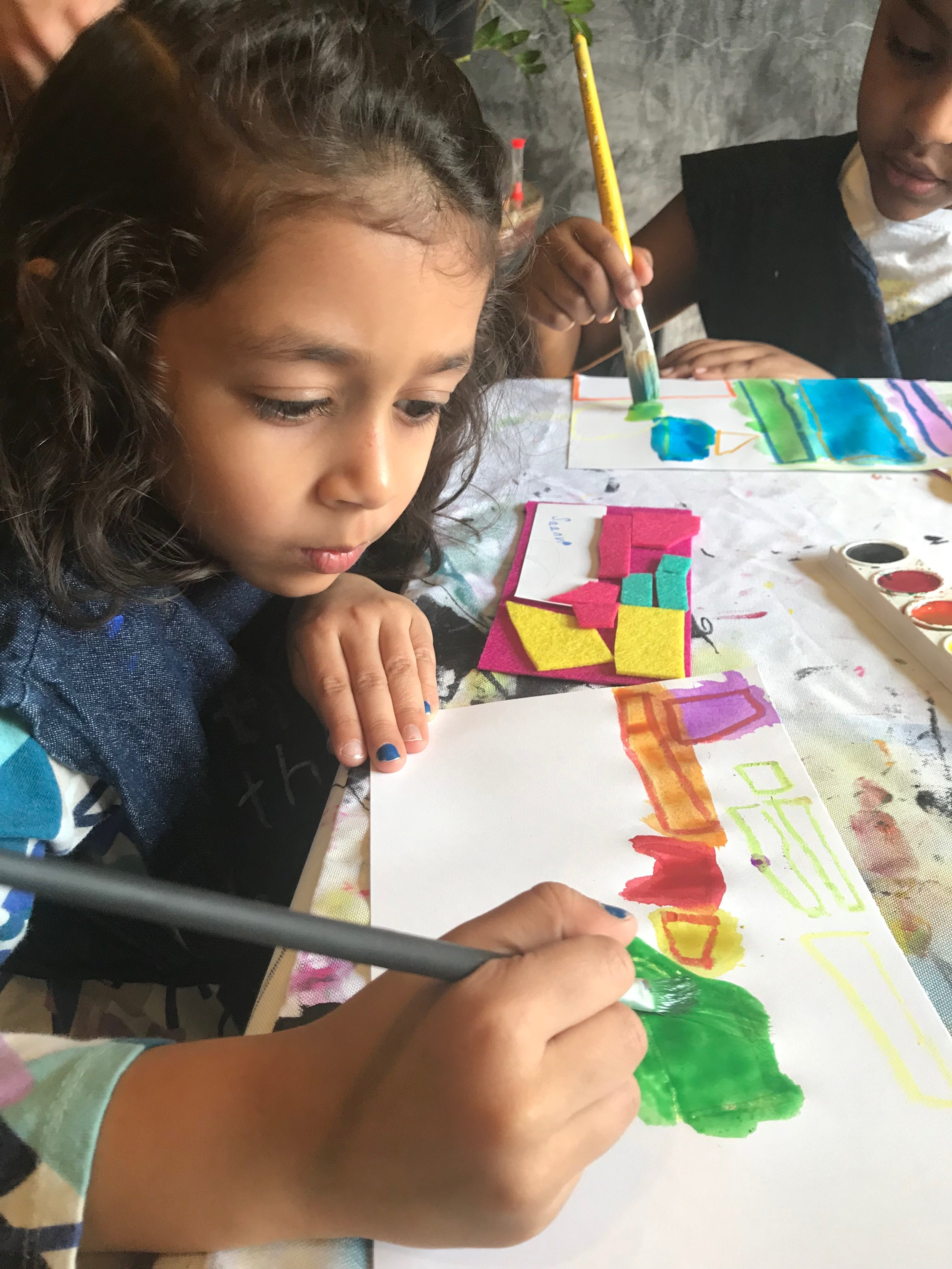 Our Mission - The Art Table Studio is a mobile arts studio for everyone! WE BELIEVE that connection through community ARTs, projects & events build better neighborhoods and happy people everywhere!Learn More