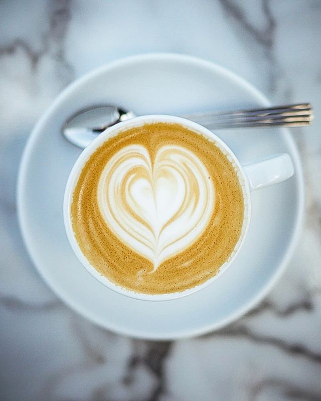 A good coffee gives you joy and keeps you active throughout the day. • @prologcoffeebar #coffee #cafe #cappuccino #flatwhite #coffeetrip #coffeetime #coffeetour #coffeebreak #heart #hearts #latteart #crema #marble #denmark #copenhagen