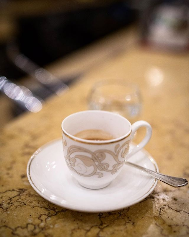 The perfect Italian espresso can start and end your night. When do you take it? • @caffe_terzi_bologna #coffee #espresso #ristretto #bar #powerboost #coffeetrip #coffeebreak #italianespresso #italy #italian #bar #night #kickstarter #crema #arabica #shot #bologna #cafeterzi #terzi #cafe