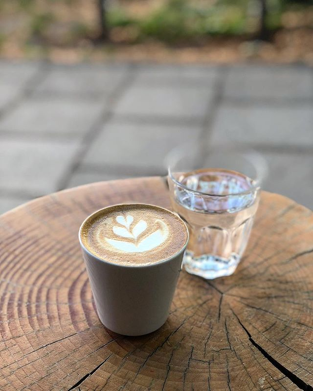 Oh Munich, living here for 6 years and still not done finding all your beautiful cafes!! Hello @cafebla_muenchen 🤗👌 • #cafe #coffee #cappuccino #flatwhite #munich #home #cafebla #bla #latteart #hidden #au #outdoor #minga #germany #wood #hiddengem #new #hello #beansnwater