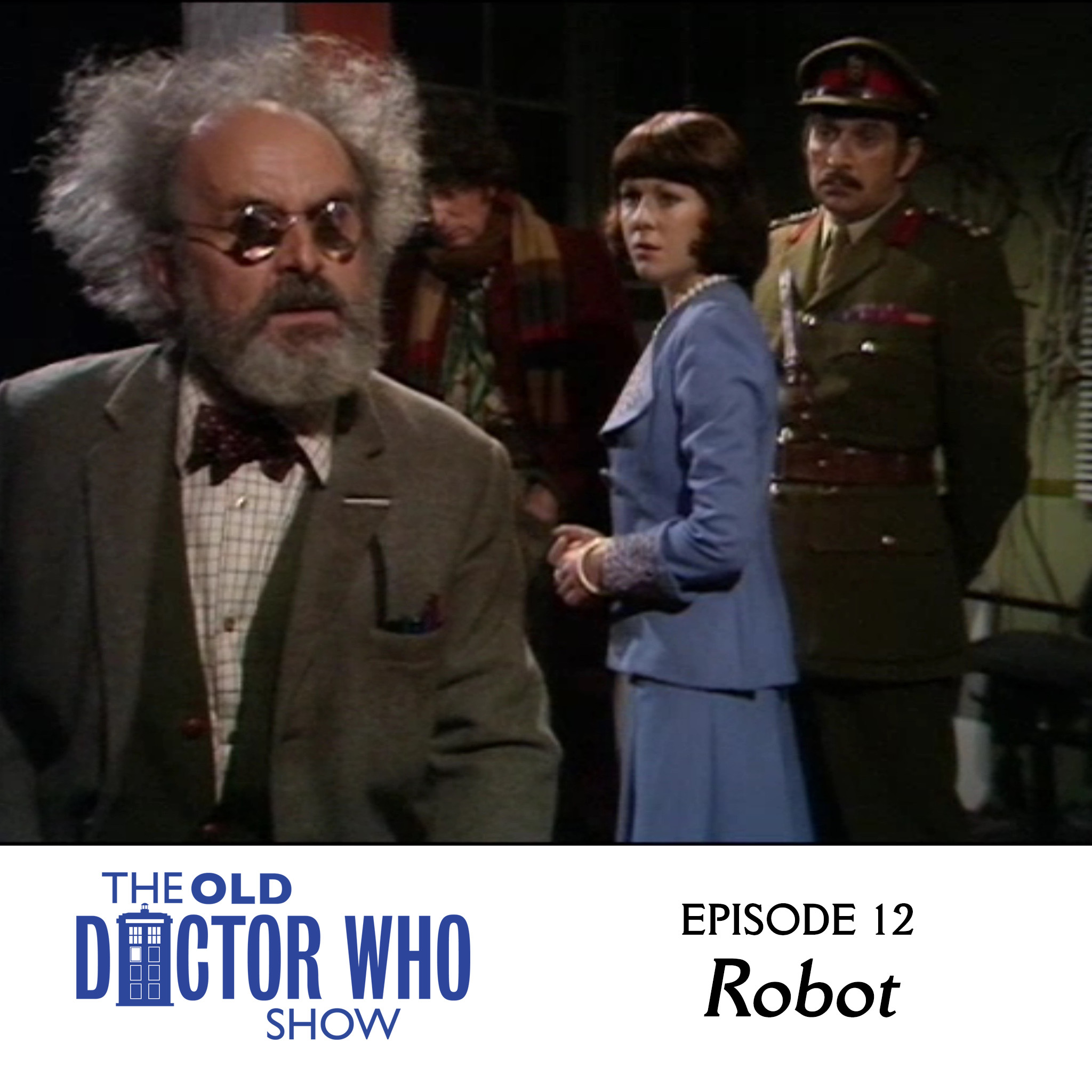 Dan and Eric sit down and talk about ROBOTS but mostly just the one ROBOT from the TOM BAKER debut ROBOT.