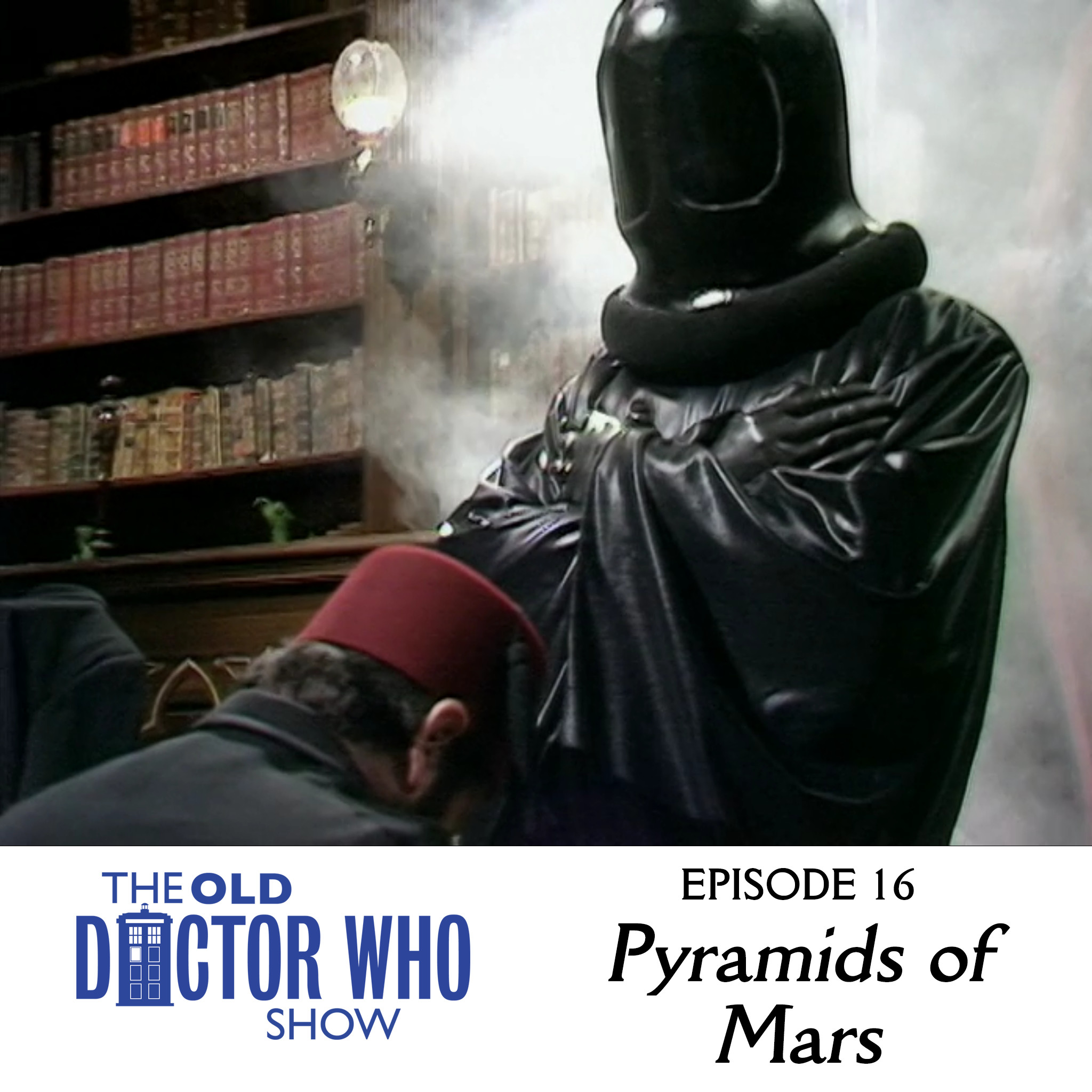 To all you Doctor Who fans out there, who don't wanna listen to a podcast where the hosts are...all up in the videos, all on the records, ...then come to The Old Doctor Who Show! This episode we review PYRAMIDS OF MARS! Plus OTHER STUFF!