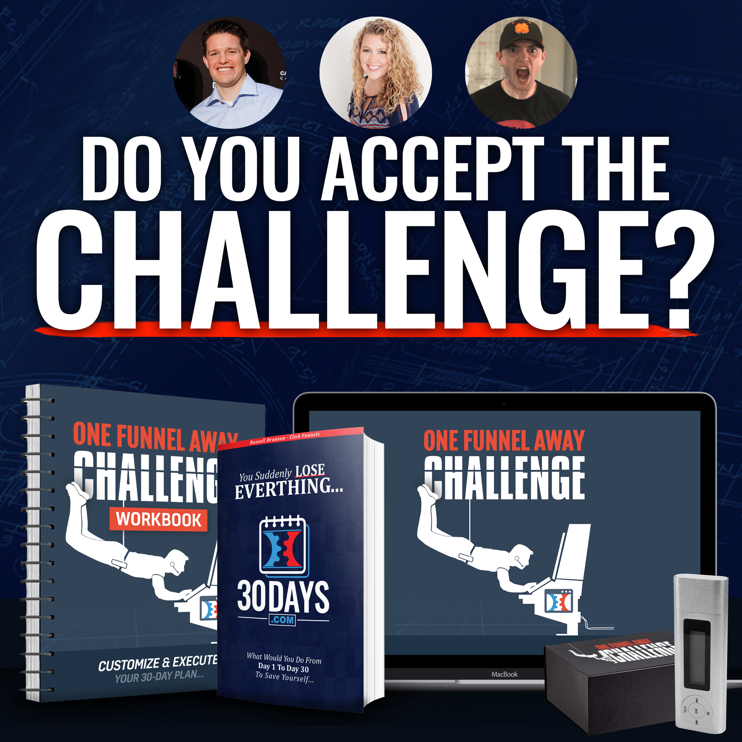 ONE FUNNEL AWAY CHALLENGE - This 30 Day Challenge Is EXACTLY What You Need to Succeed and Exceed Growth Expectations for Your Business!