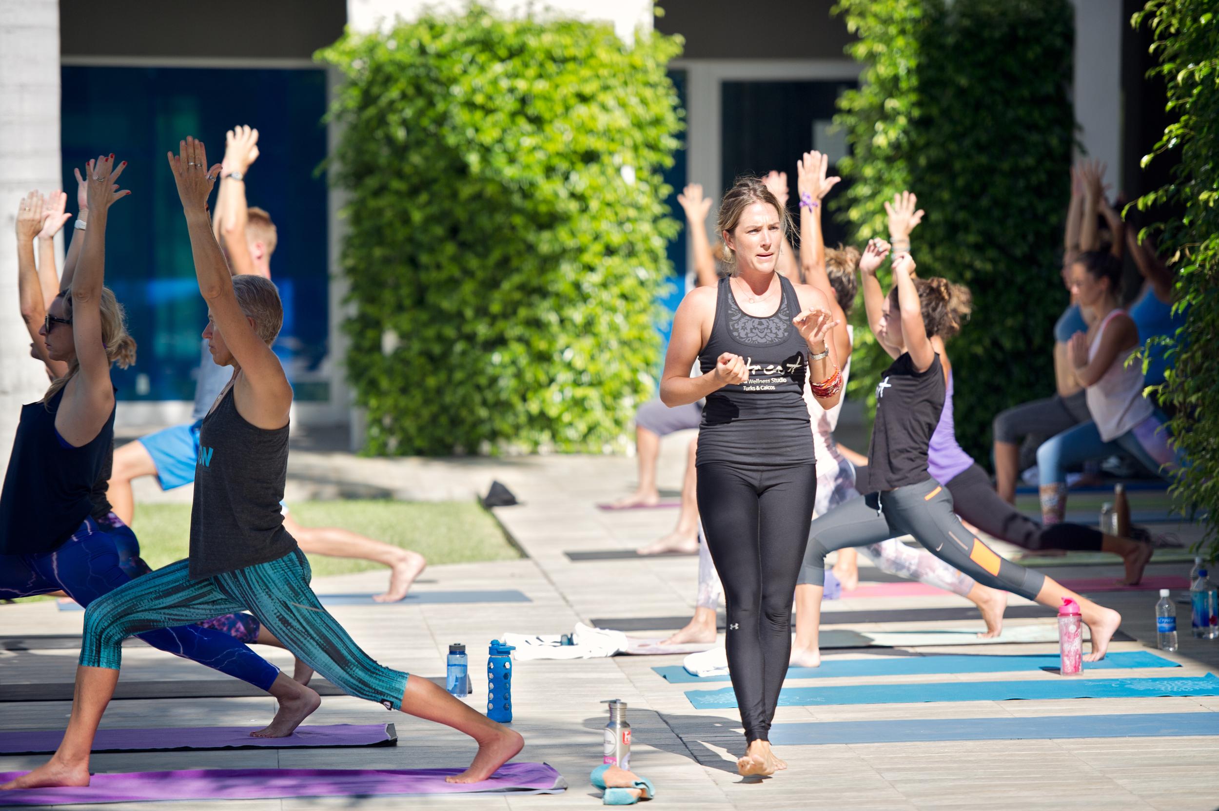 Laura Mensen of Retreat Yoga and Wellness Studio