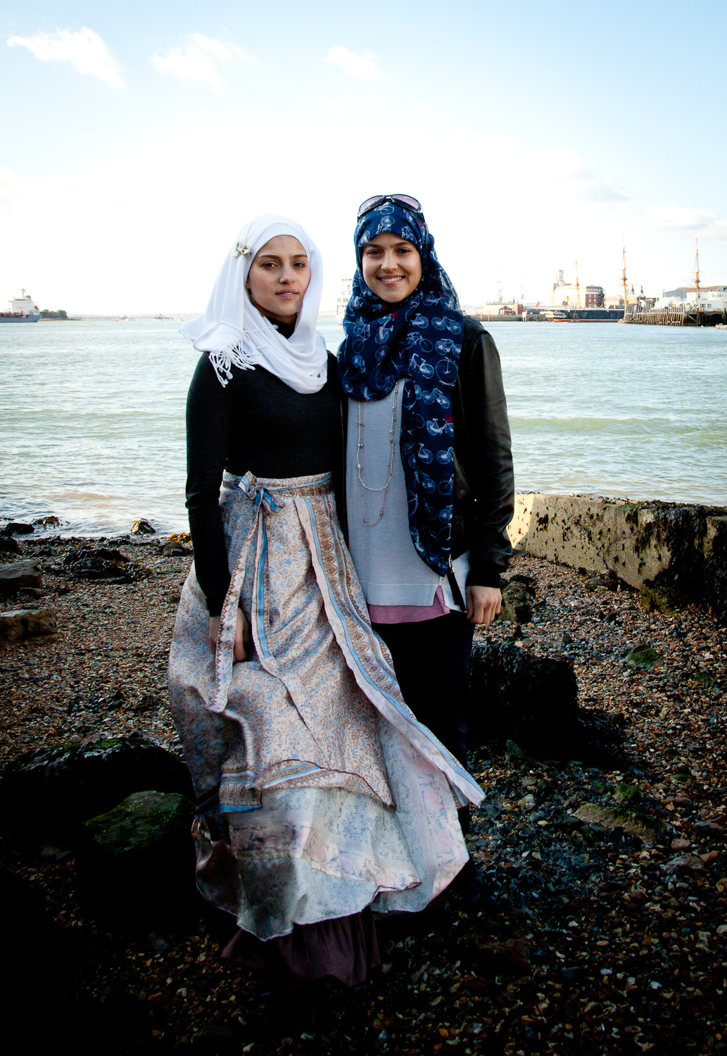 Hafsa and Hansa, Portsmouth, UK