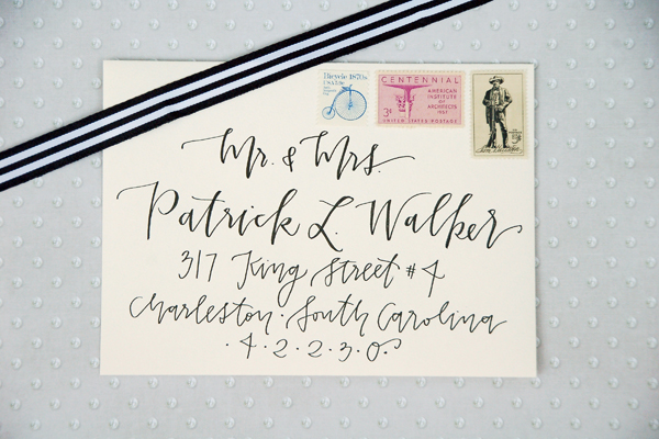 Lettered Life Envelope Wedding Calligraphy - Black 3.jpg