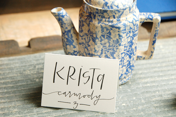 Lettered Life Place Card Wedding Calligraphy.jpg