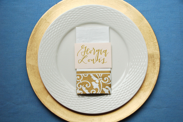 Lettered Life Place Card Wedding Calligraphy - Blush & Gold.jpg