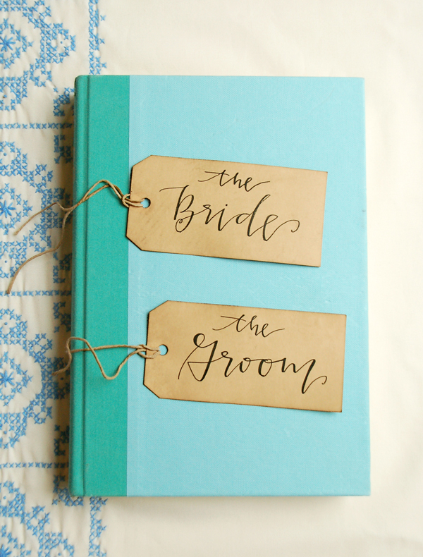 Lettered Life Place Card Wedding Calligraphy Kraft Paper.jpg