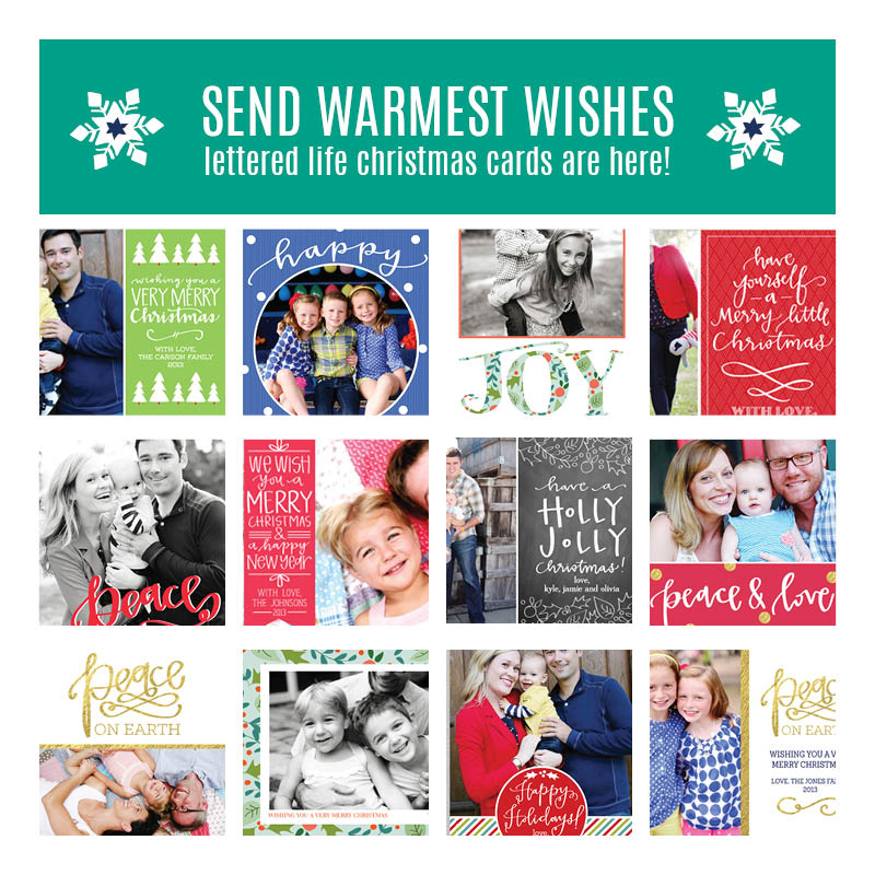 Lettered-Life-Christmas-Cards-are-Here!