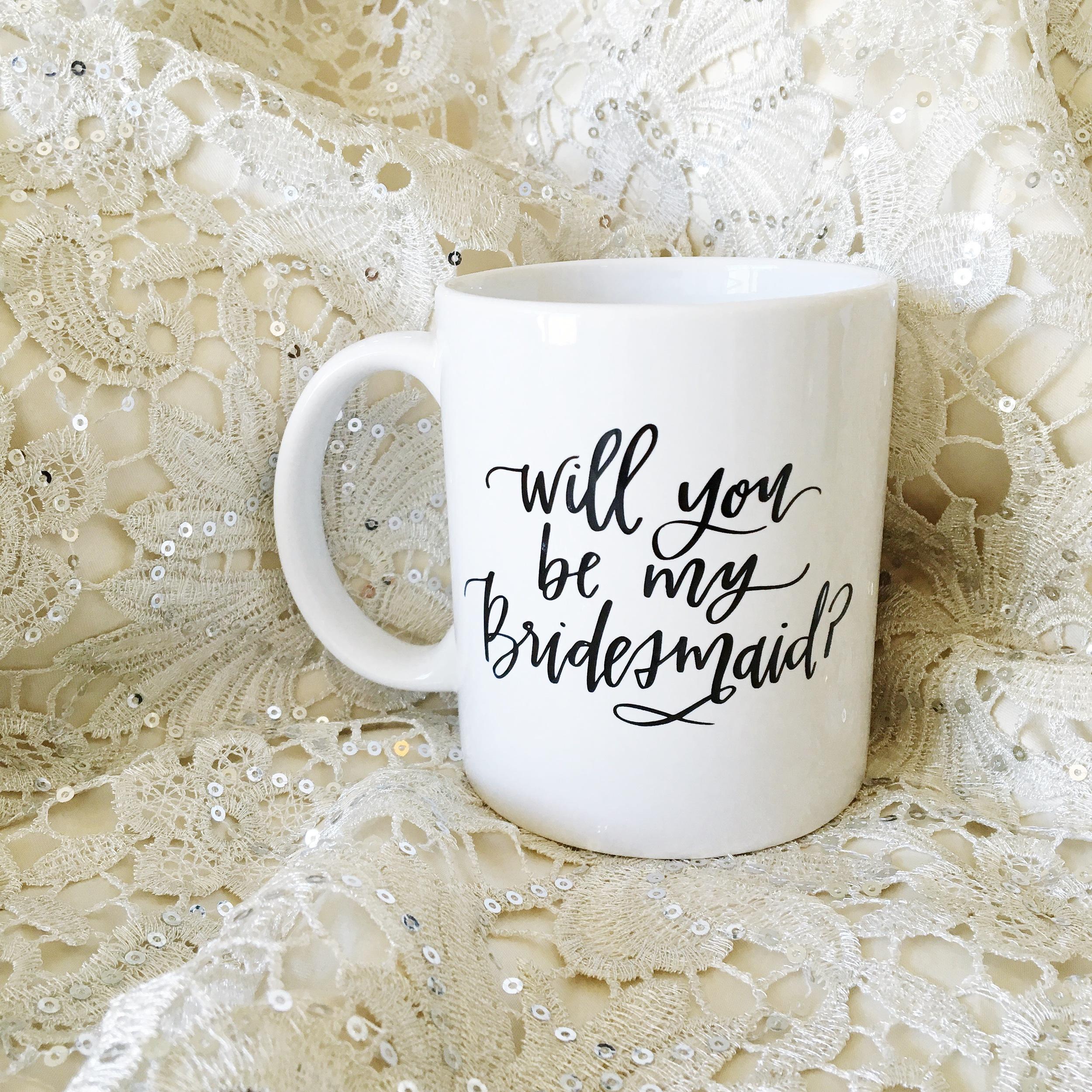 Bridesmaid Mug - Lettered Life