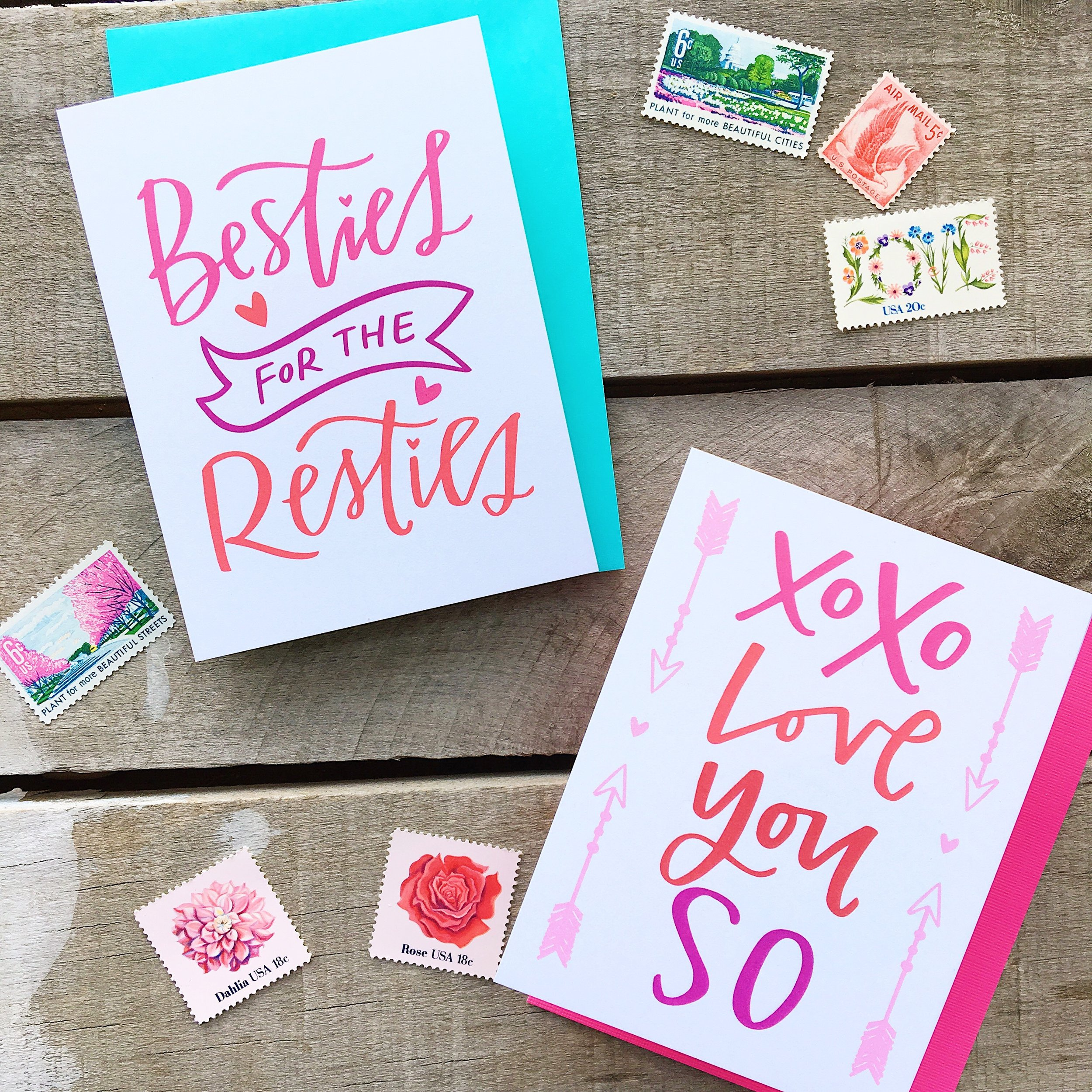 Lettered Life Valentine's Day FREE Printables and February Goals
