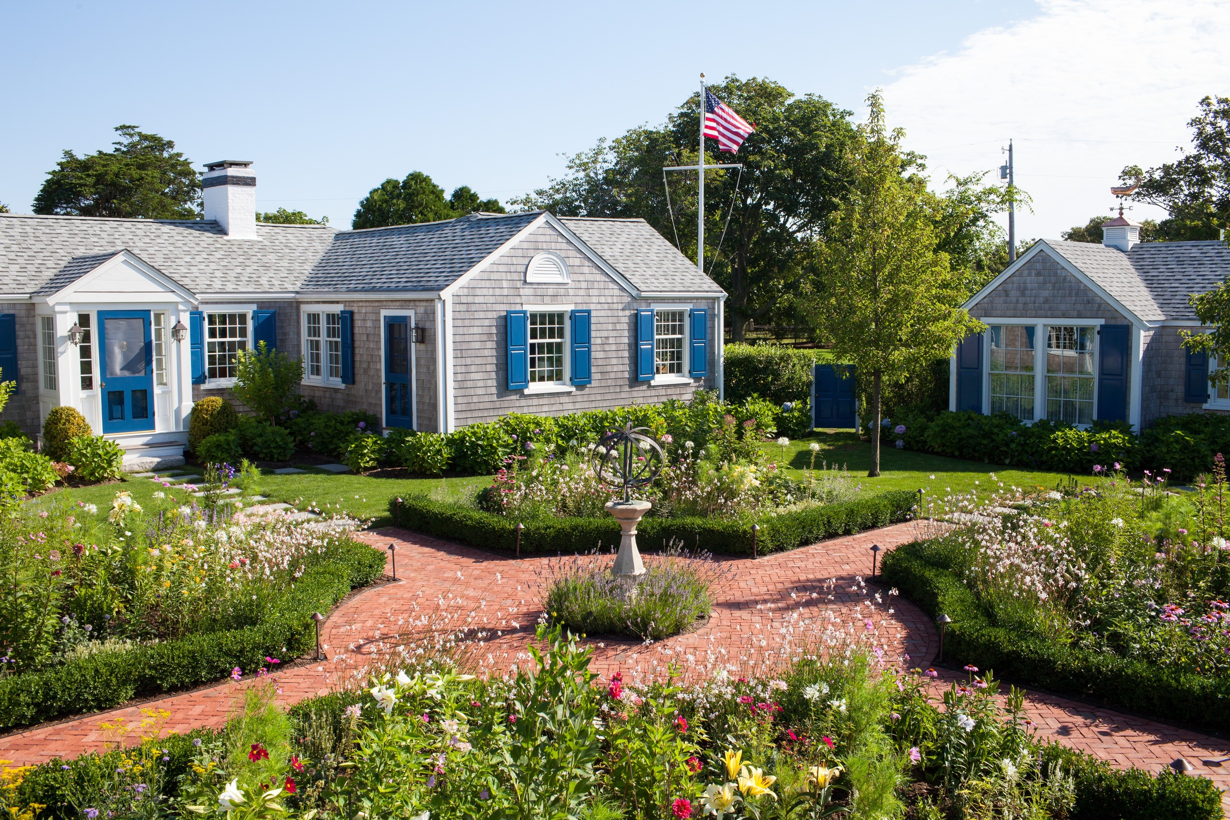 The gardens at our Nantucket home.