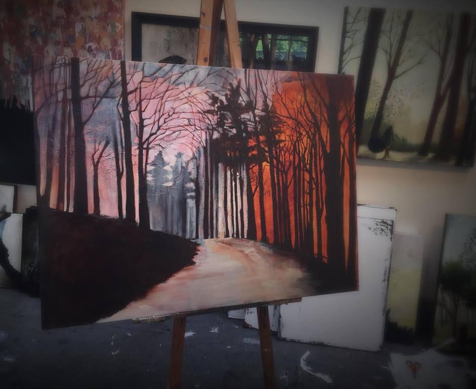 "Work in progress - ""Portland Spring"""