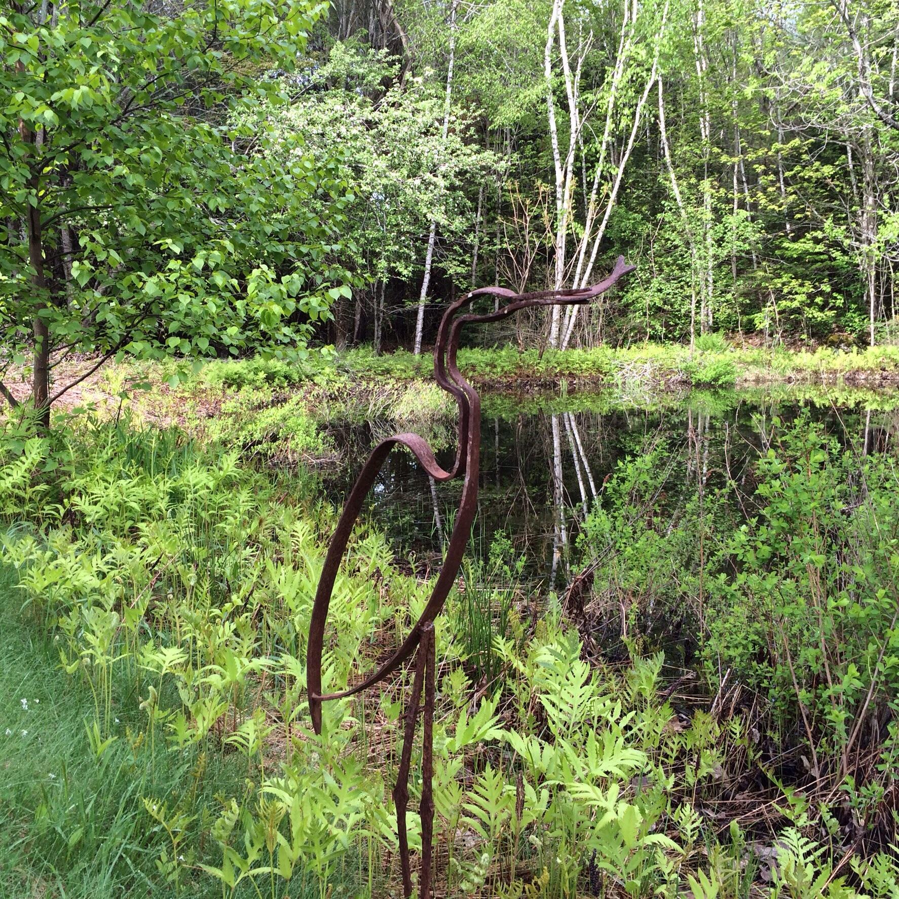 Ridge Pond Crane