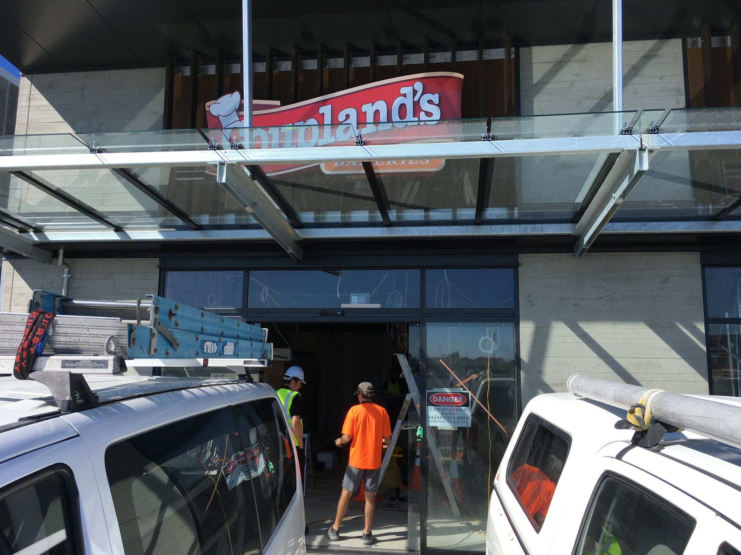 Coupland's new store in Rolleston under construction