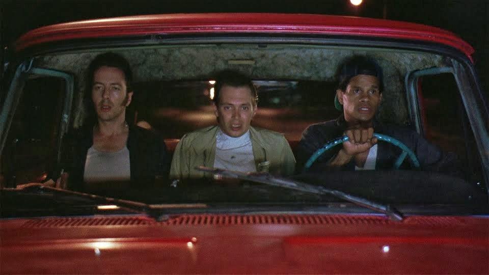 Joe Strummer, Steve Buscemi + Rick Aviles - Mystery Train (1989).jpg